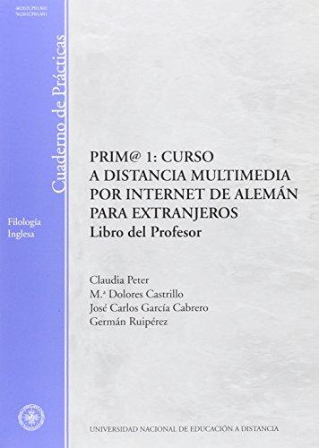 9788436226515: Prim@ 1. Libro del profesor. Cuaderno de prácticas