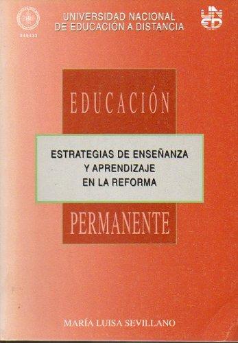 9788436229523: Estrategias de enseñanza y aprendizaje en la reforma