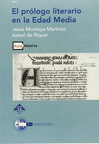 9788436236484: El prologo literario en la Edad Media (Aula abierta) (Spanish Edition)