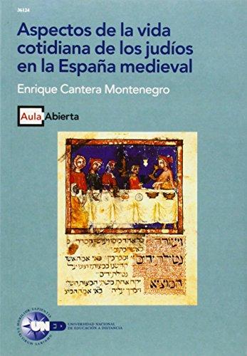 9788436238129: Aspectos de la vida cotidiana de los judios en la Espana medieval (Aula abierta) (Spanish Edition)