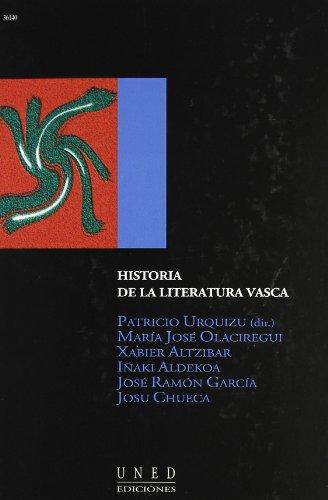 Historia de la literatura vasca (Aula abierta / Universidad Nacional de Educacion a Distancia)...