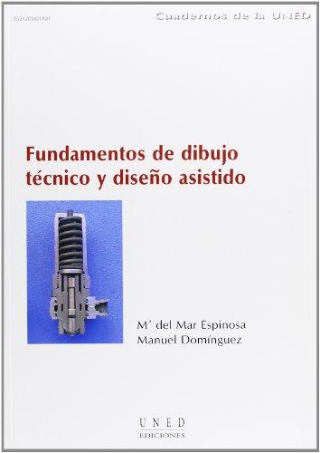 9788436243482: Fundamentos de Dibujo Técnico y Diseño Asistido (CUADERNOS UNED)