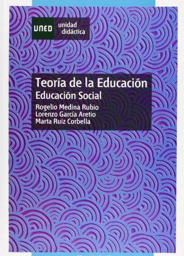9788436244403: Teoría de La Educación. Educación Social (UNIDAD DIDÁCTICA)