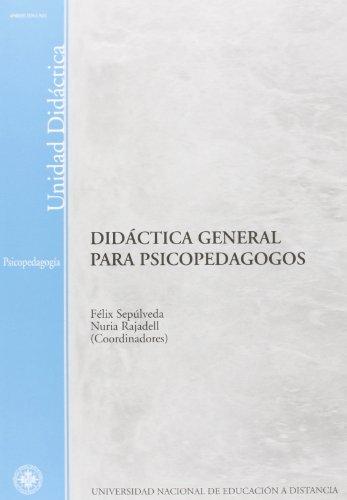 9788436244526: Didáctica General Para Psicopedagogos (UNIDAD DIDÁCTICA)