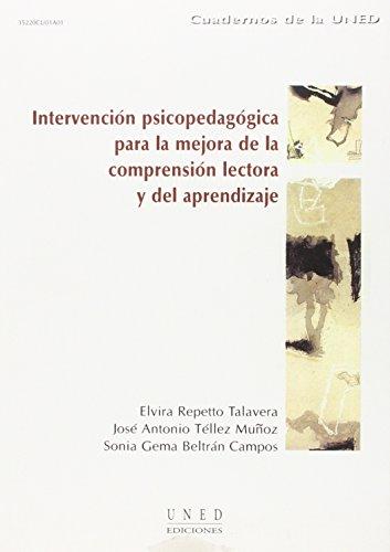 9788436244625: Intervención Psicopedagógica Para La Mejora de La Comprensión Lectora y Del Aprendizaje (CUADERNOS UNED)