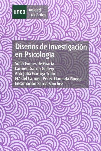 9788436244748: Diseños de investigación en psicología (UNIDAD DIDÁCTICA)