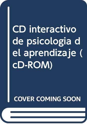 9788436245608: CD interactivo de psicología del aprendizaje (cD-ROM) (COMPACT DISC)