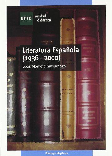 9788436248685: Literatura española (1936 - 2000)