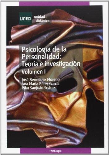 9788436248760: Psicología de la personalidad : teoría e investigación: 1 (UNIDAD DIDÁCTICA)