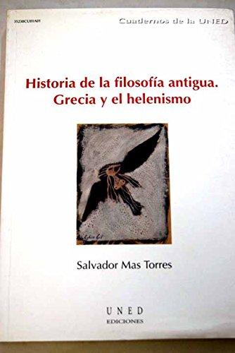 9788436248890: Historia de la filosofía antigua. Grecia y el helenismo