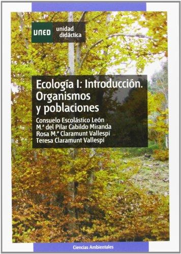 9788436251234: Ecología: Introducción. Organismos y poblaciónes: 1 (UNIDAD DIDÁCTICA)