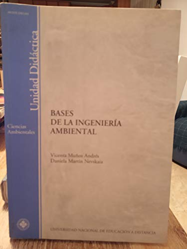 9788436251487: Bases de la ingenieria ambiental