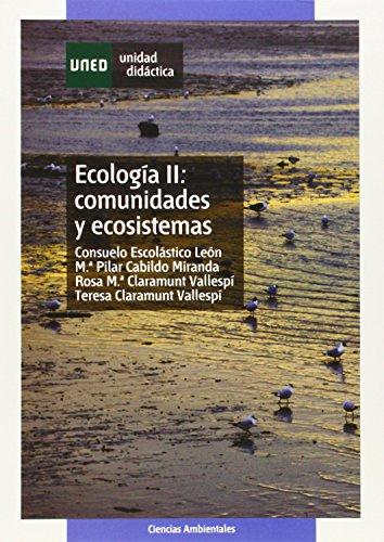 9788436251616: Ecología: Comunidades y ecosistemas: 2 (UNIDAD DIDÁCTICA)