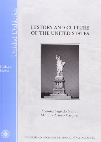 9788436254525: HISTORY AND CULTURE OF THE UNITED STATES