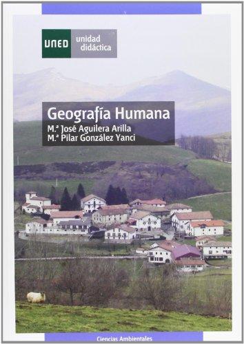 Geografia humana/ Human Geography (Spanish Edition): Vallejo, Jose Maria