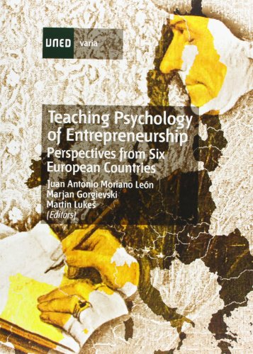 9788436255683: Teaching Psychology Of Entrepreneurship. Perspectives From Six European Countries (VARIA)