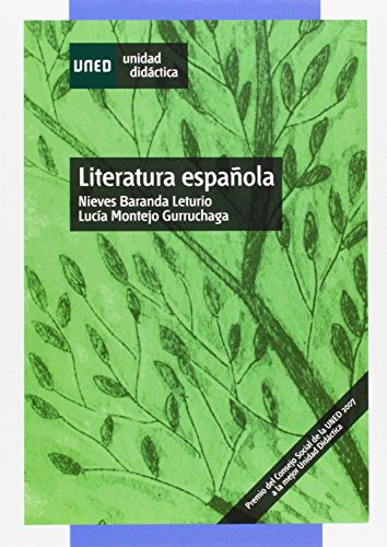 9788436258714: Literatura española (UNIDAD DIDÁCTICA)