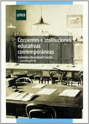 9788436261202: Corrientes e Instituciones Educativas Contemporaneas