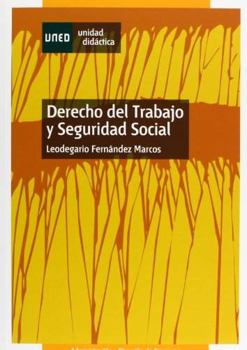 9788436262612: Derecho del trabajo y seguridad social