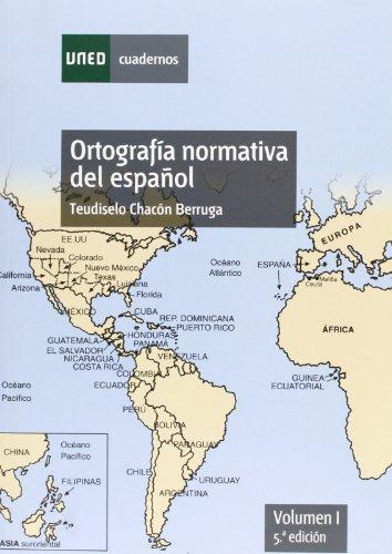 9788436263909: Ortografía normativa del español. 5ª edición: Ortografía normativa del español. Volumen I. 5ª edición: 1 (CUADERNOS UNED)