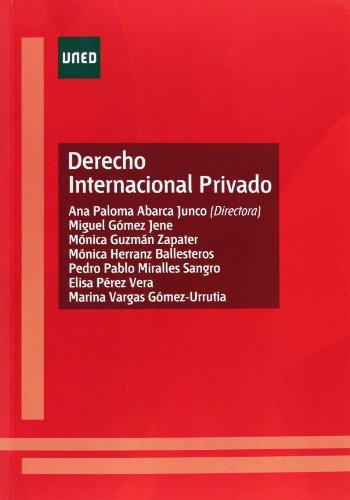 9788436266986: Derecho internacional privado (GRADO)