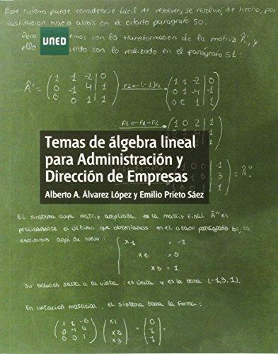 ALGEBRA LINEAL ADE 2014: alvarez lopez