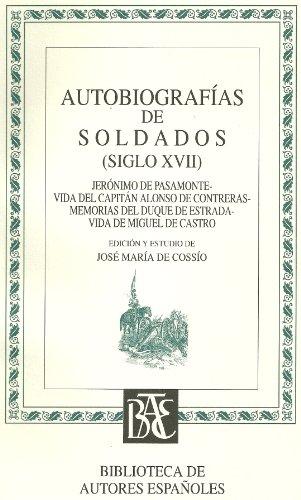 9788436301489: Autobiografias de soldados (siglo XVII), nº 90