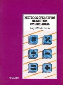 9788436803440: Metodos operativos de gestion empresarial