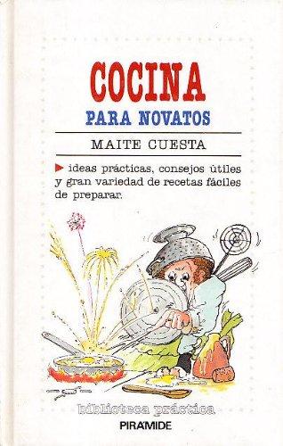 9788436805383: Cocina para novatos