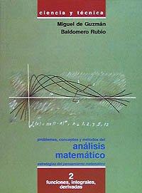 Problemas,conceptos y métodos del análisis matemático.Funciones, integrales,derivadas: VVAA