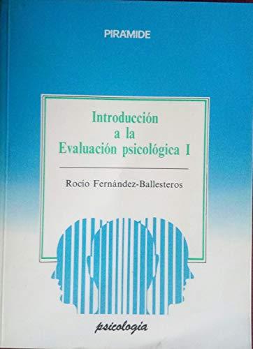 9788436806892: Introduccion a la evaluacion psico-logica I