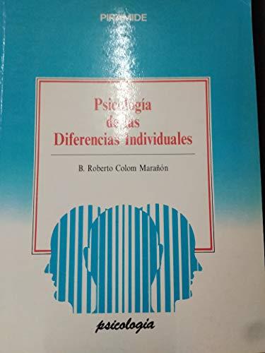 9788436807967: Psicologia de las diferencias individuales