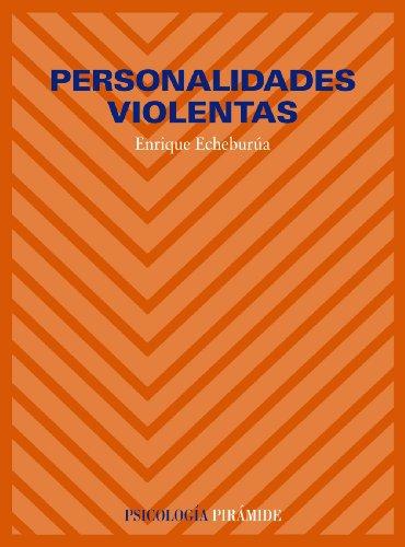 9788436808292: Personalidades violentas (Psicología / Psychology) (Spanish Edition)