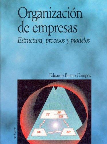 9788436809763: Organizacion de empresas / Business organization: Estructura, Procesos Y Modelos (Economia Y Empresa) (Spanish Edition)