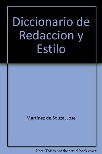 9788436810721: Diccionario de redaccion y estilo