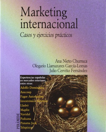 MARKETING INTERNACIONAL: NIETO CHURRUCA, ANA;LLAMAZARES