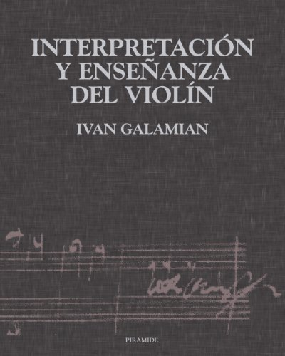 9788436811902: Interpretacion Y Ensenanza Del Violin (Musica) (Spanish Edition)