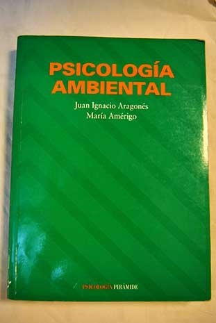 9788436812183: Psicologia ambiental
