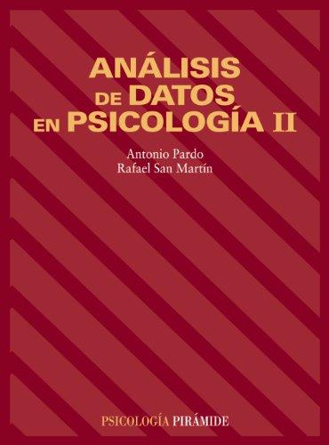 9788436812527: Analisis de datos en psicologia II/ Analisis of data in psychology II (Spanish Edition)