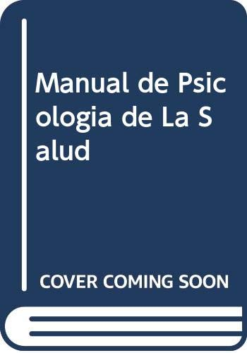 9788436812732: Manual de Psicologia de La Salud (Spanish Edition)