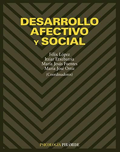 9788436813623: Desarrollo afectivo y social (Spanish Edition)