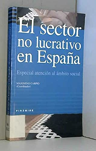 9788436813838: El sector no lucrativo en Espana / The Nonprofit Sector in Spain: Especial Atencion Al Ambito Social (Empresa Y Gestion) (Spanish Edition)