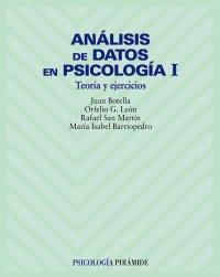 Análisis de datos en psicología I: Botella Ausina, Juan;