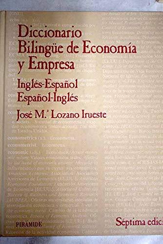 9788436815467: Diccionario bilingue de economia y empresa / Bilingual Dictionary of Economics and Business (Spanish Edition)