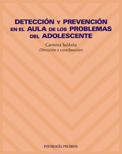9788436816013: Detección y prevención en el aula de los problemas del adolescente (Psicología)