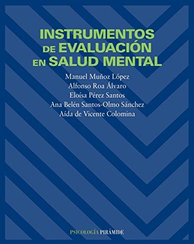 9788436816495: Instrumentos de evaluacion en salud mental / Assessment Tools In Mental Health (Psicologia) (Spanish Edition)