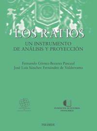 Los Ratios. Un Instrumento De Análisis Y: Fernando Gómez-bezares