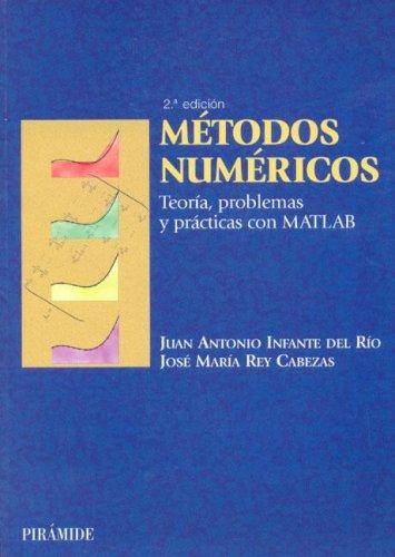 9788436817249: Metodos numericos / Numerical Methods: Teoria, Problemas Y Practicas Con Matlab (Ciencia Y Tecnica) (Spanish Edition)