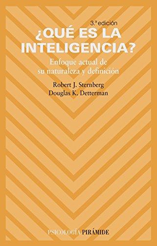 9788436818314: Que es la inteligencia? (Psicologia) (Spanish Edition)