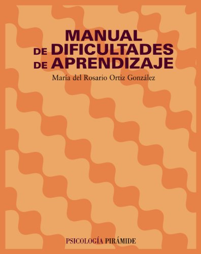 9788436818499: Manual de dificultades de aprendizaje (COLECCION PSICOLOGIA) (Psicologia / Psychology) (Spanish Edition)